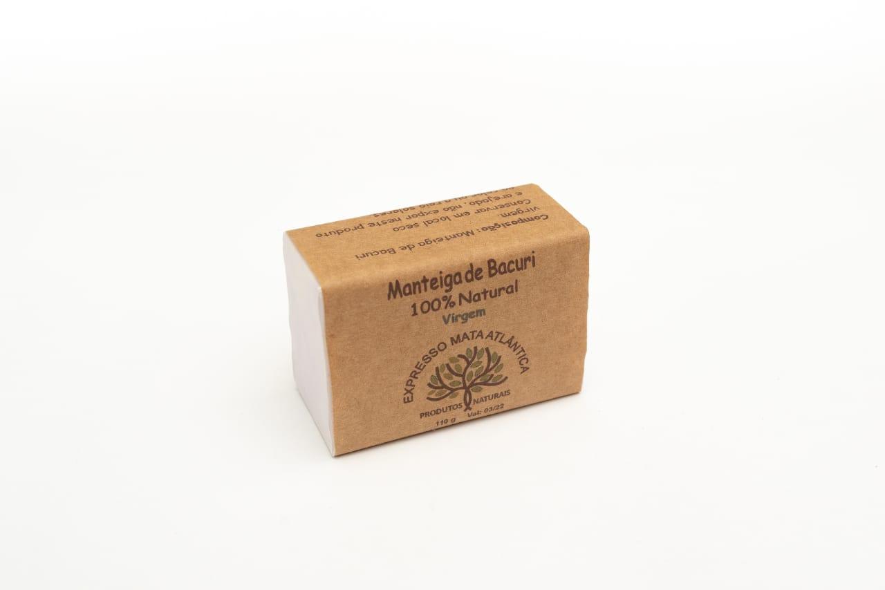 Manteiga de Bacuri extra virgem da Expresso Mata Atlântica.