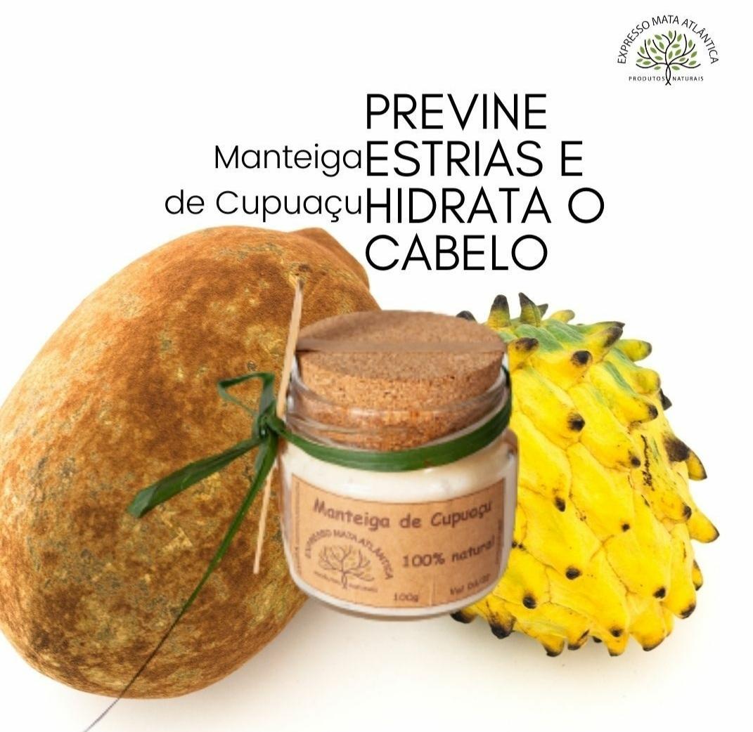 Manteiga de Cupuaçu Natural da Expresso Mata Atlântica