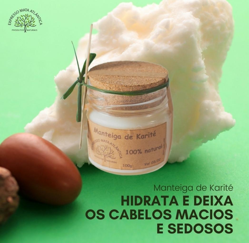 Manteiga de Karite natural da Expresso Mata Atlântica