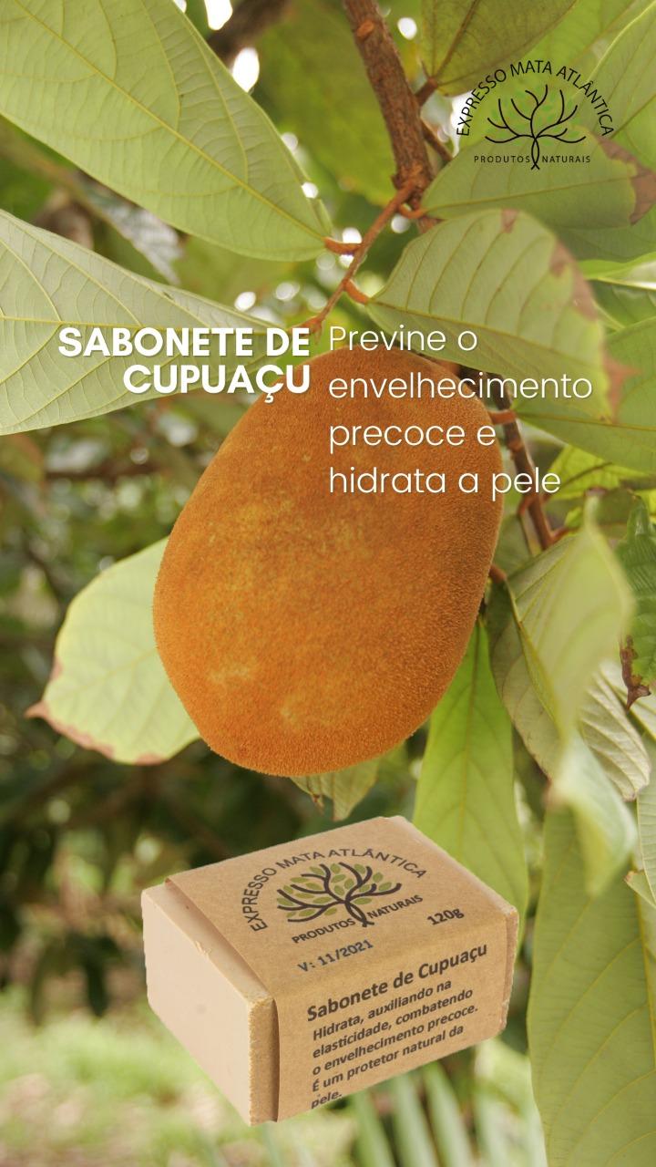 Sabonete  Cupuaçu Natural Vegano da Expresso Mata Atlântica