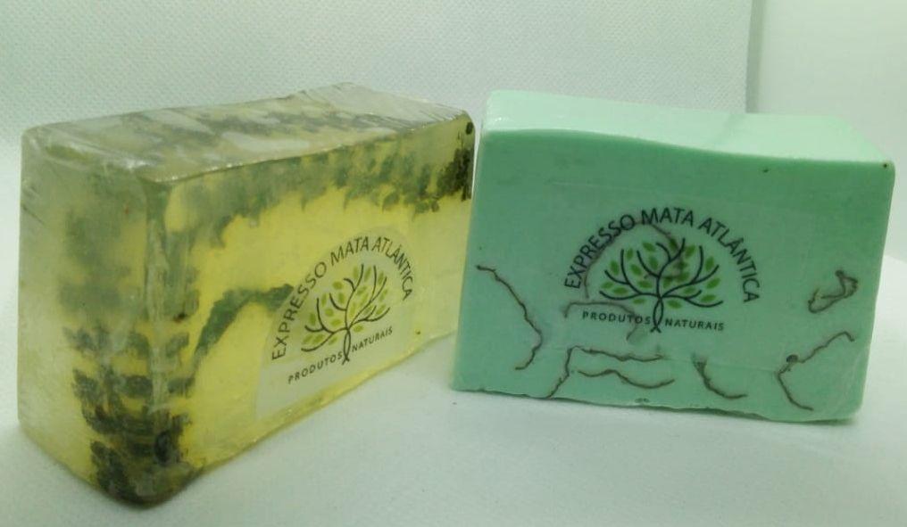 Shampoo barra e Sabonete naturais  Veganos  Erva Cidreira da Expresso Mata Atlântica.