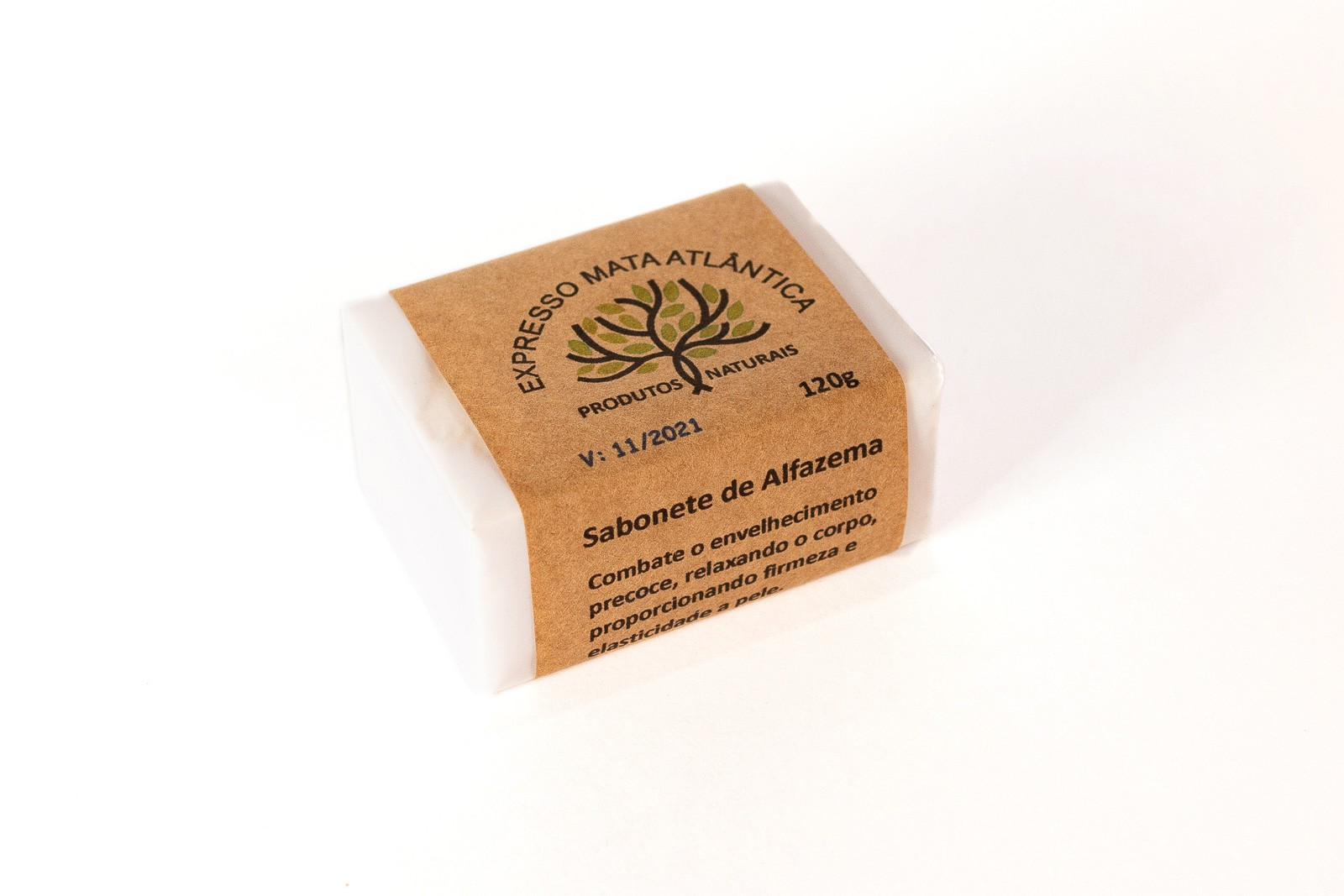 Sabonete Vegano de Alfazema. Natural e Orgânico.