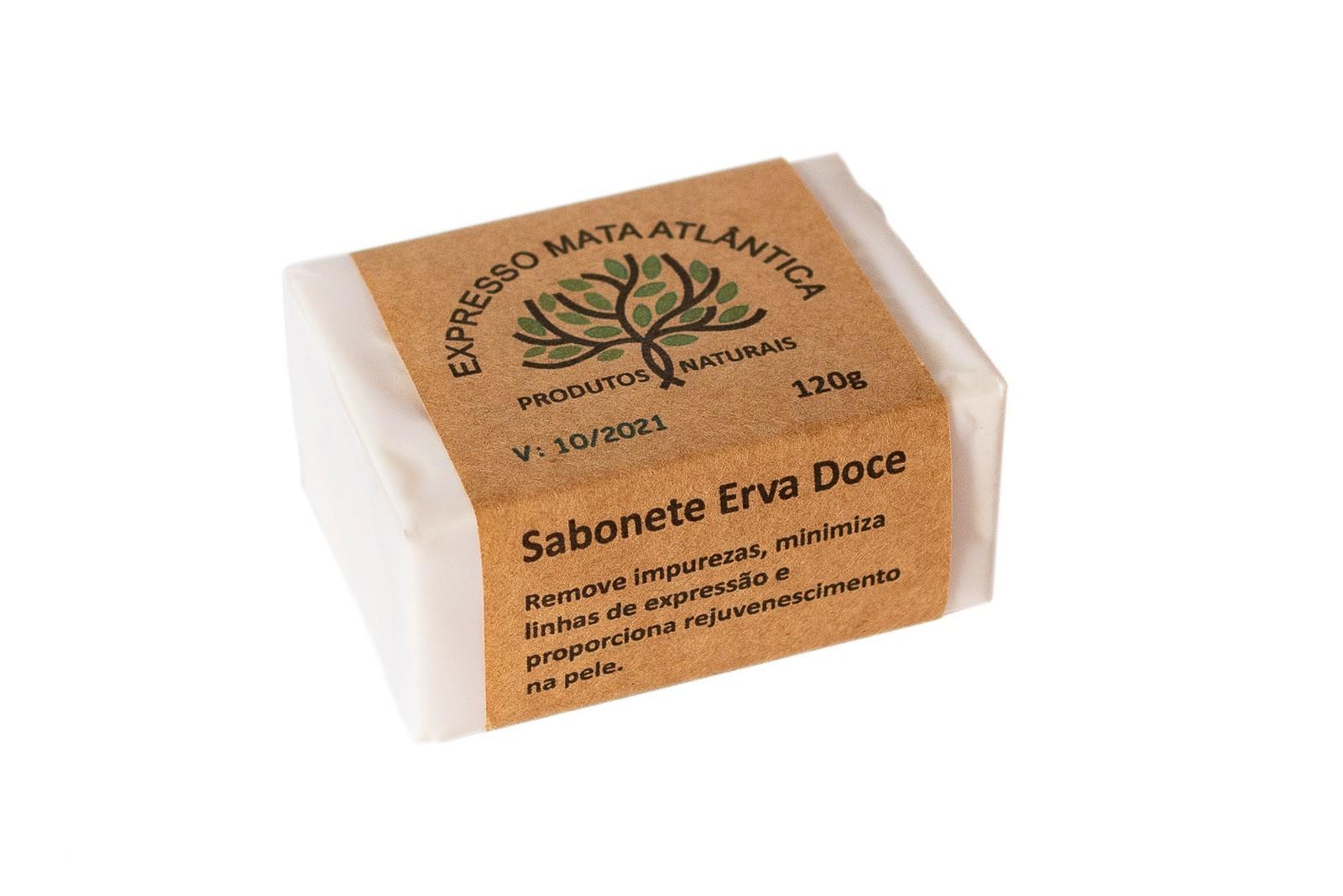 Sabonete Vegano de Erva Doce, Natural, Artesanal e Orgânico.