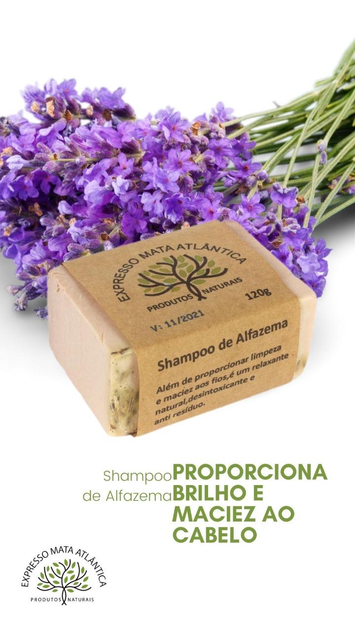 Shampoo Sólido Vegano Alfazema da Expresso Mata Atlântica