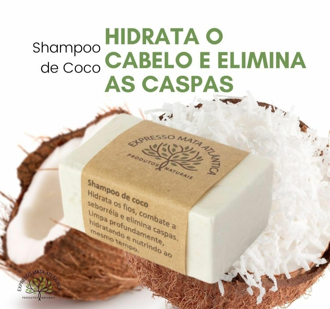 Shampoo Sólido Vegano Coco da Expresso Mata Atlântica