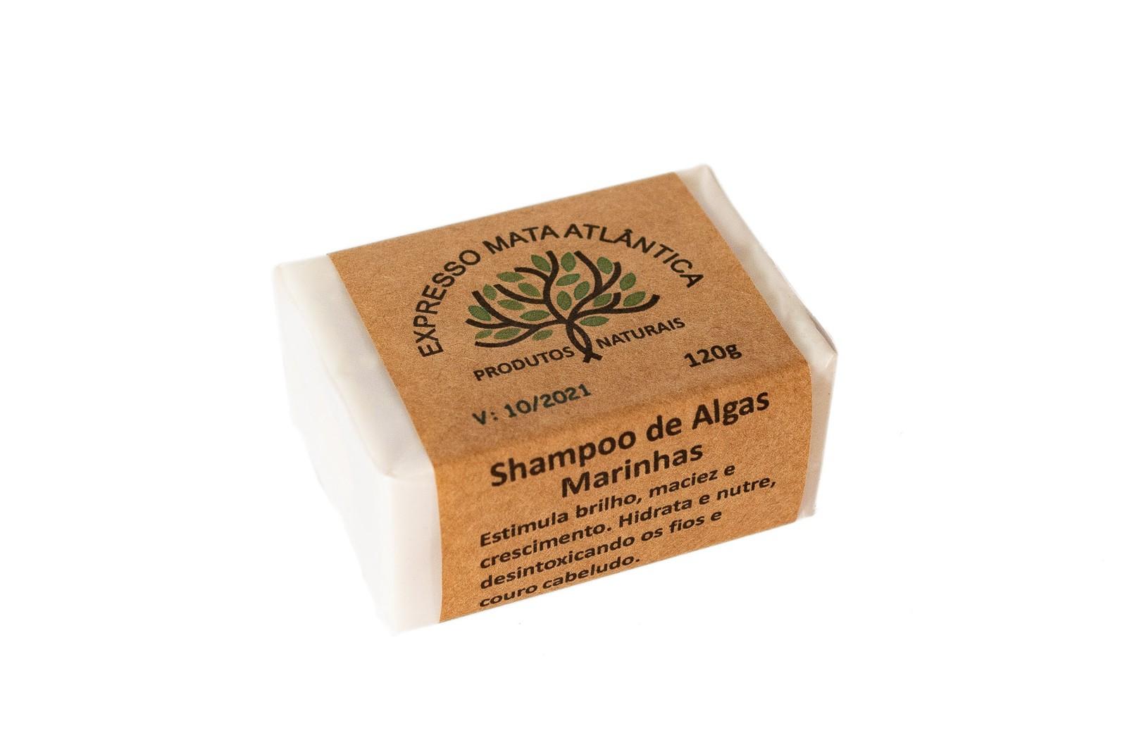 Shampoo Sólido Vegano e Natural de Algas da Expresso Mata Atlântica
