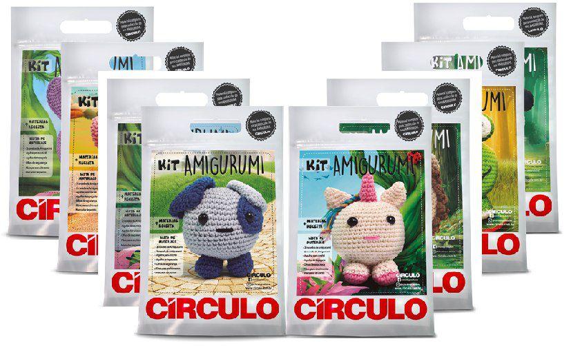 Kit Circulo Amigurumi Bich 5 Cachorro - O Melhor Armarinho em Lãs ... | 511x827
