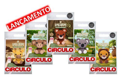 Kit Amigurumi Circulo | Compre Aqui Online No Armarinho São José | 341x500