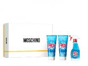 Moschino Fresh Couture Kit - Eau De Toilette + Gel De Banho + Loção Corporal