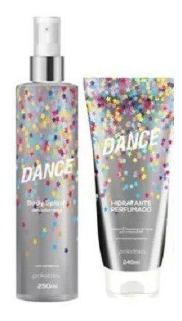 Kit Hidratante E Body Splash - Dance Pokoloka (bombon)
