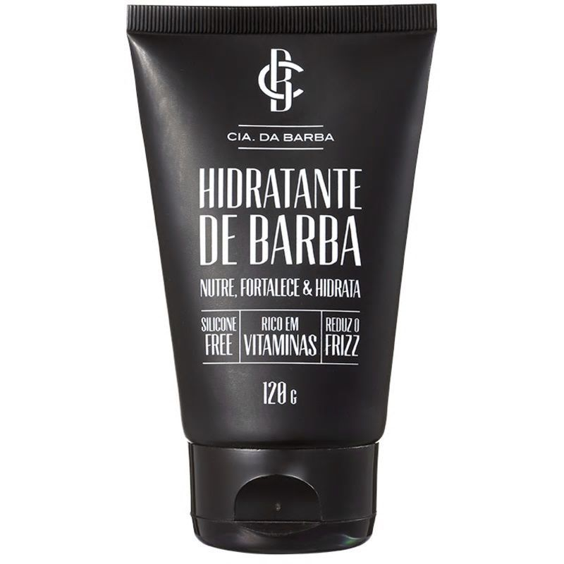 Hidratante De Barba Cia Da Barba - Hidratante De Barba - 120g