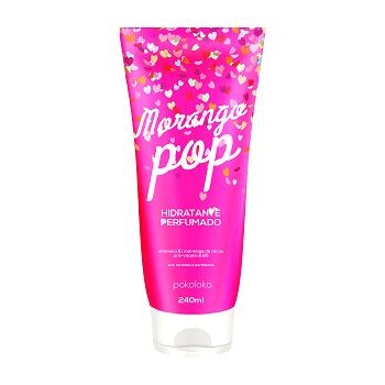 Hidratante e Body Splash Morango pop