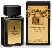 The Golden Secret Antonio Banderas - Perfume Masculino -EDT 200ml