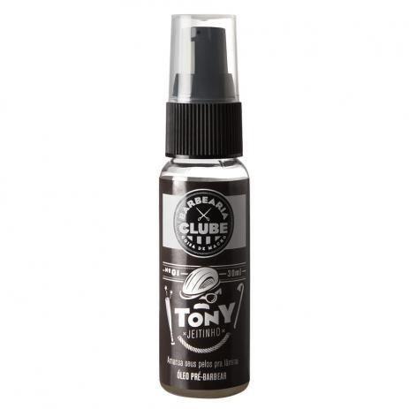 Tony Jeitinho Barbearia Clube - Óleo Pré Barbear - 30ml