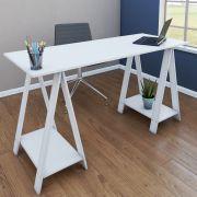 Mesa com cavalete multiuso