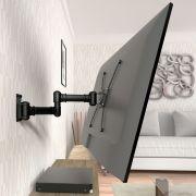 Suporte triarticulado com inclinação para TV de 19 a 56 polegadas