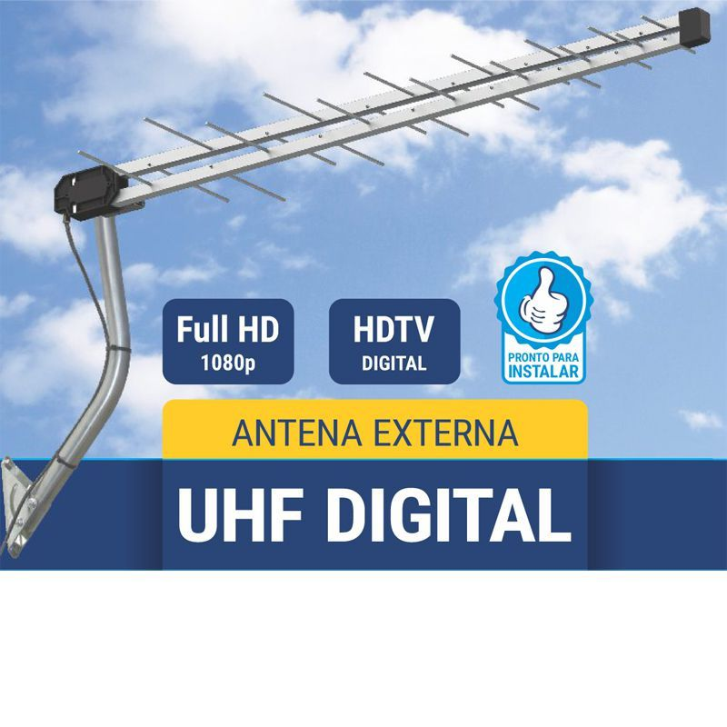 Antena UHF Digital