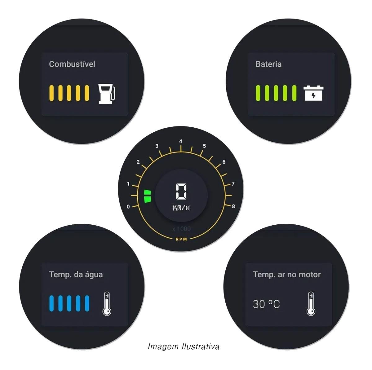 Scanner Automotivo Obd2 Carrorama Multilaser Bluetooth Au205