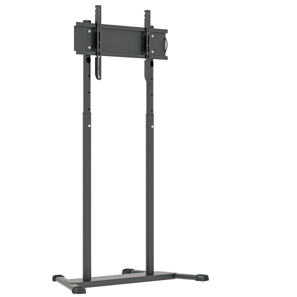 """Pedestal para TV 32"""" a 75"""" com suporte para DVD/Notebook e Webcam"""