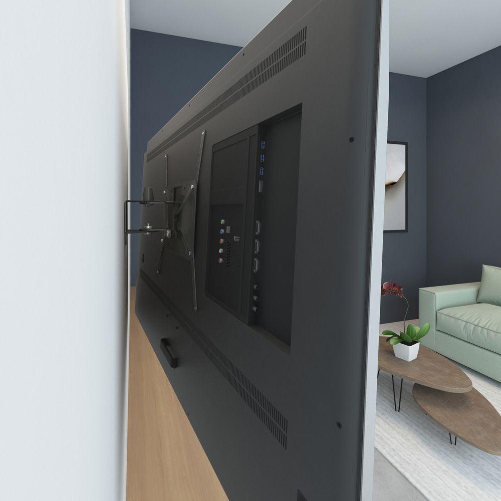 Suporte articulado com inclinação para TV de 14 à 56 polegadas
