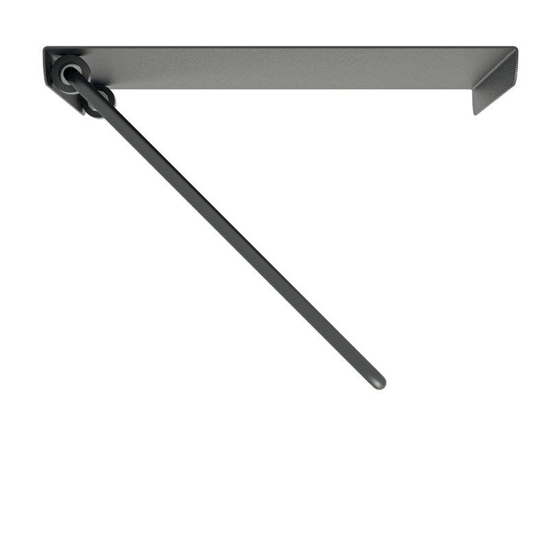 Suporte triarticulado com inclinação para TV de 14 a 56 polegadas + Suporte Acessórios