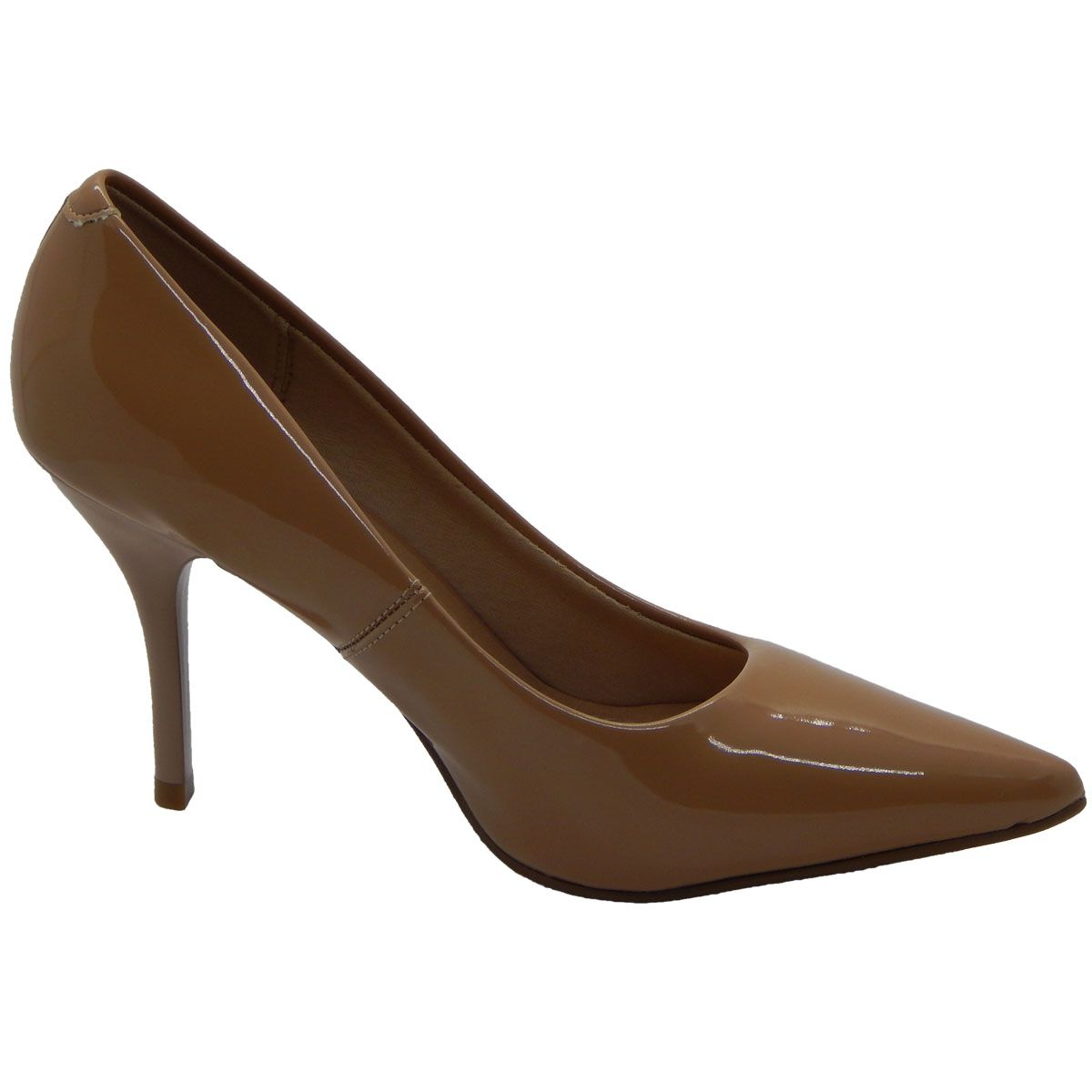 de5d8872e3 Sapato Scarpin Nude Beira Rio Conforto - D D SHOES