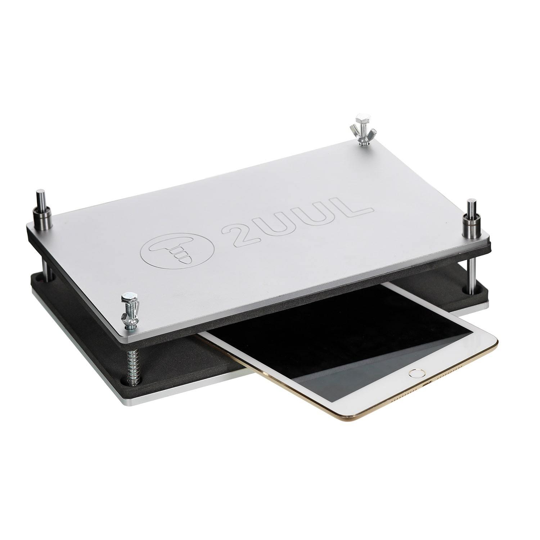 Prensa ajustável para troca de telas de smartphones e tablets 2uul Tamanho: 29 cm * 17 cm * 8 cm