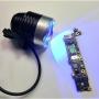 Kit Lâmpada Uv + tinta Uv Verde+ Fx-002 Fio Para Jumper Nãoisolant + Fx-002A Fio Para Jumper isolante