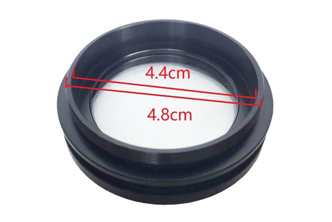 99FIX M48 Lente de microscópio evitar fumaça e óleo, poeira 48mm