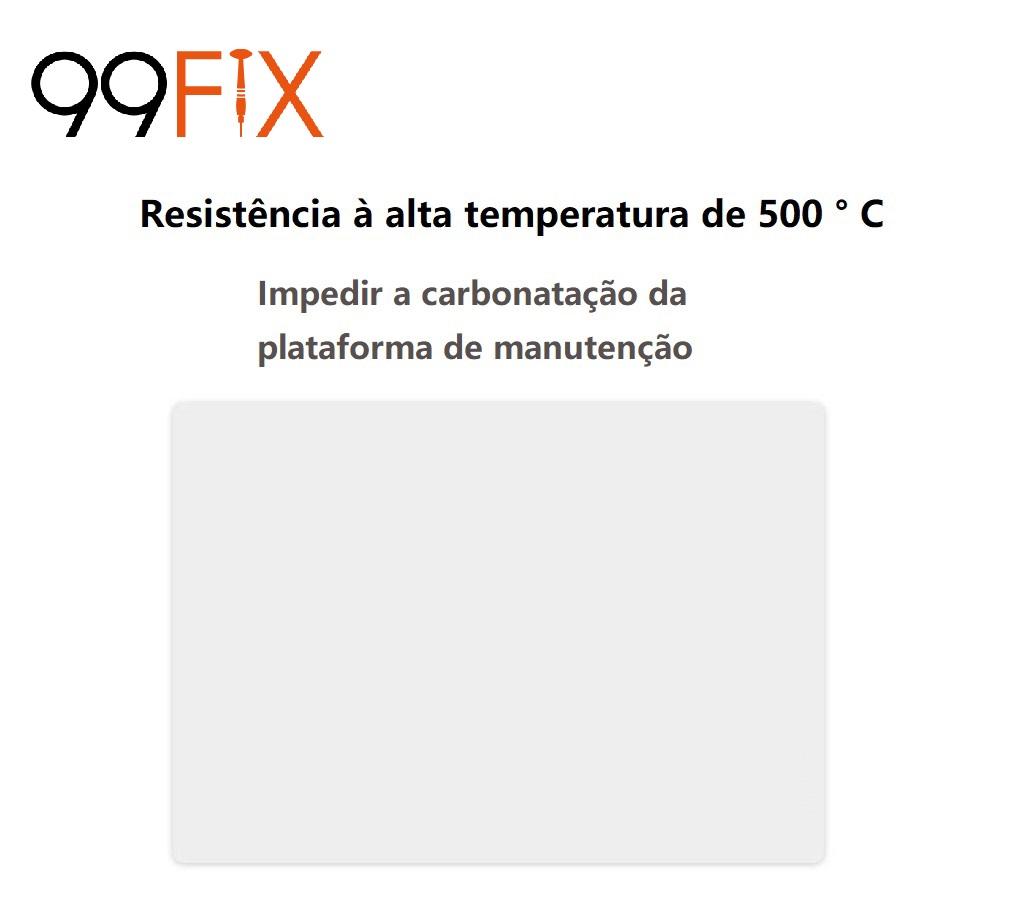 99FIX MAT-001B Tapete de solda resistente ao calor Almofada de silicone Plataforma de manutenção de solda anti-estática BGA 350X240X3mm