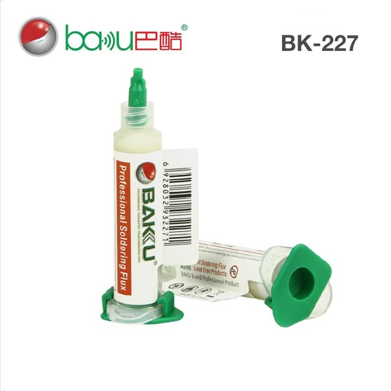 Baku Bk-227 Fluxo de solda profissional sem chumbo 10cc