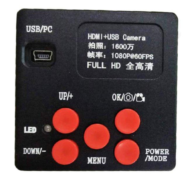 Câmera Hdmi 1600 16mp USB Para Microscópio Tudo Kaisi/yaxun/  Grande Promoção