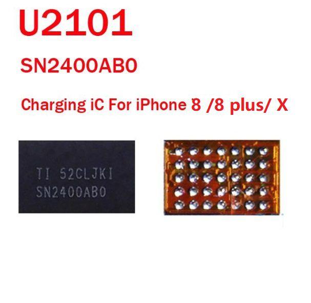 Controlador de carregamento IC U2101 SN2400ABO para IPhone 8/ 8 Plus/ X  35 pins