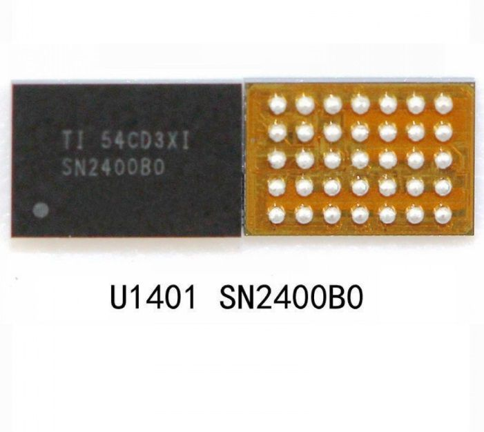 Controlador do carregador IC U1401 SN2400B0YFF 35pin para IPhone 6 / 6 Plus