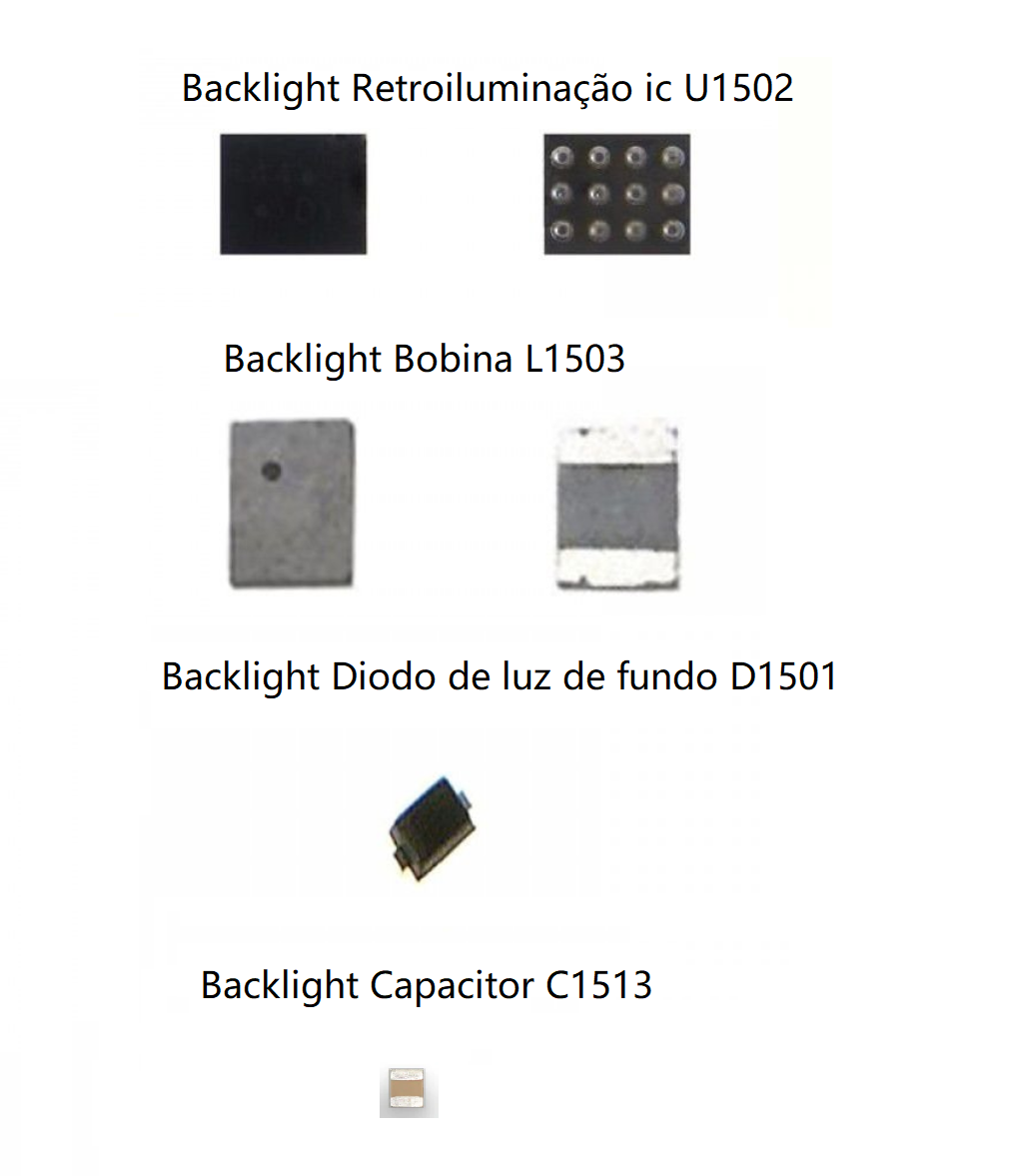 Ic Backlight Kit para iPhone 6/6 Plus U1502, D1501, L1503, C1513