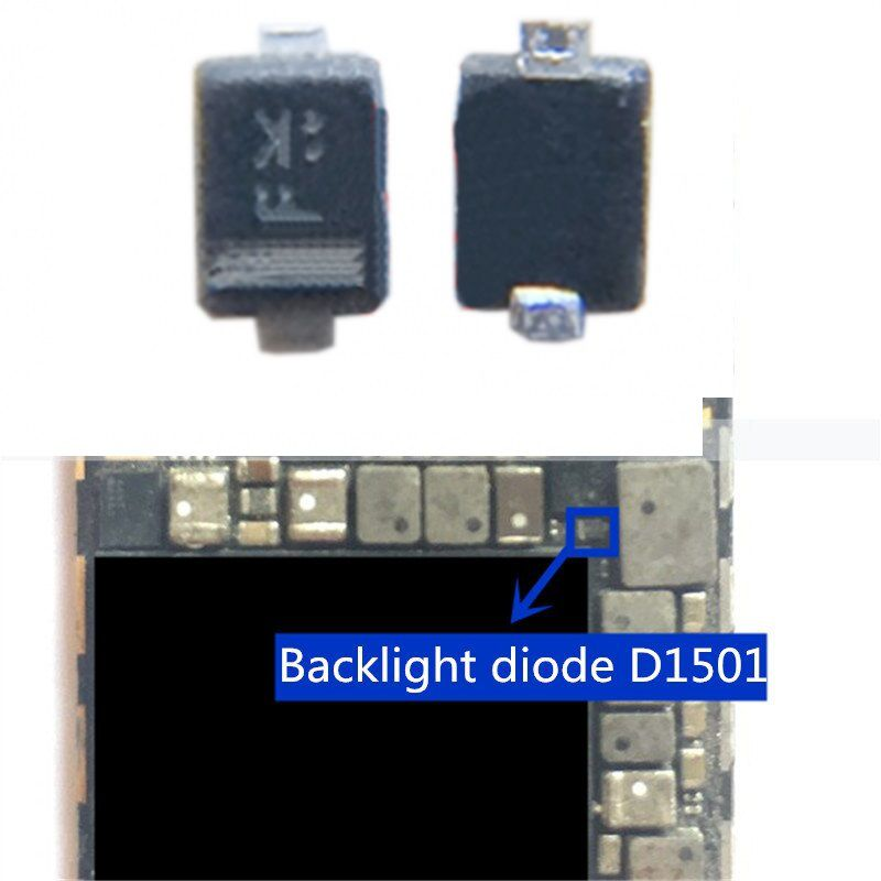 ic D1501 Backlight back light diode para  iPhone 6/ 6plus