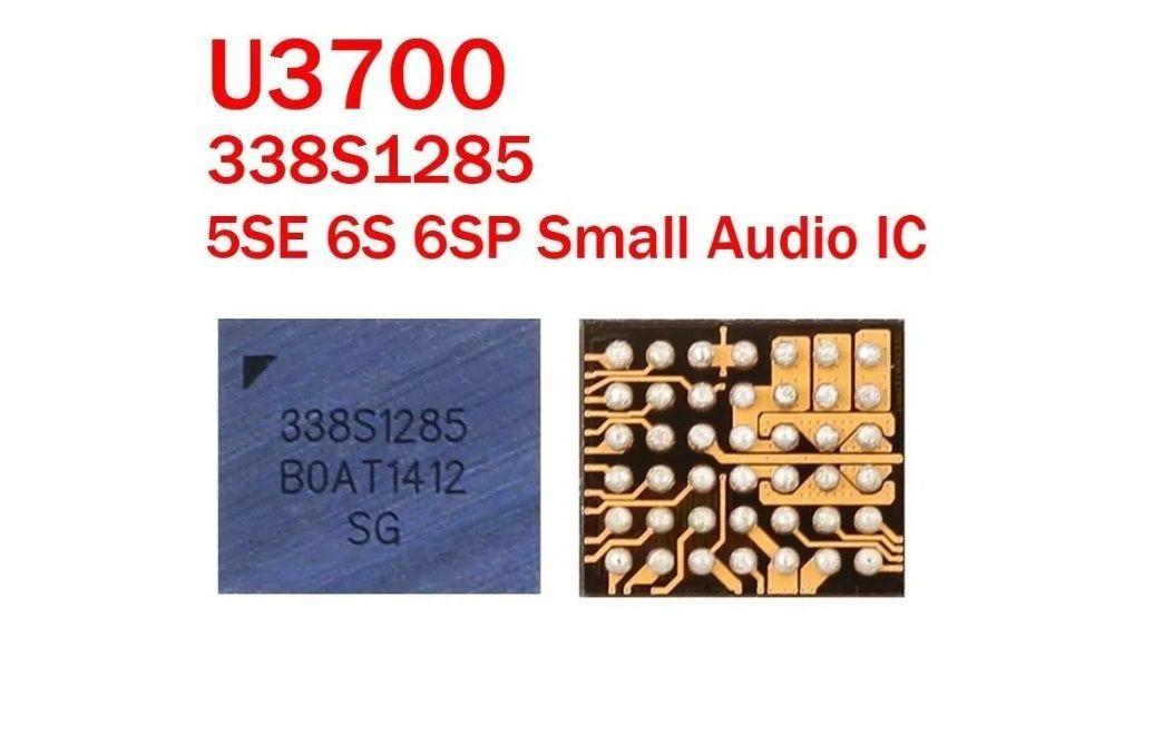 IC de áudio U3700 / U3800 / 338S1285 Para IPhone 6S / 6S Plus