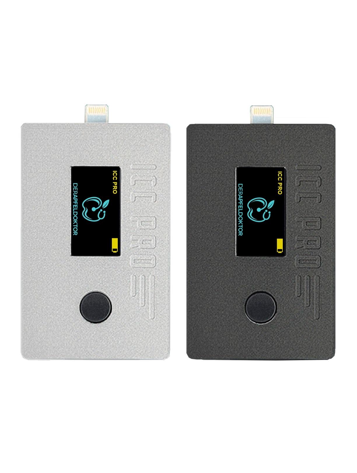 Icc pro v2 diagnóstico rápido e fácil de um iPhone ou iPad com porta Lightning e Tristar / Hydra IC