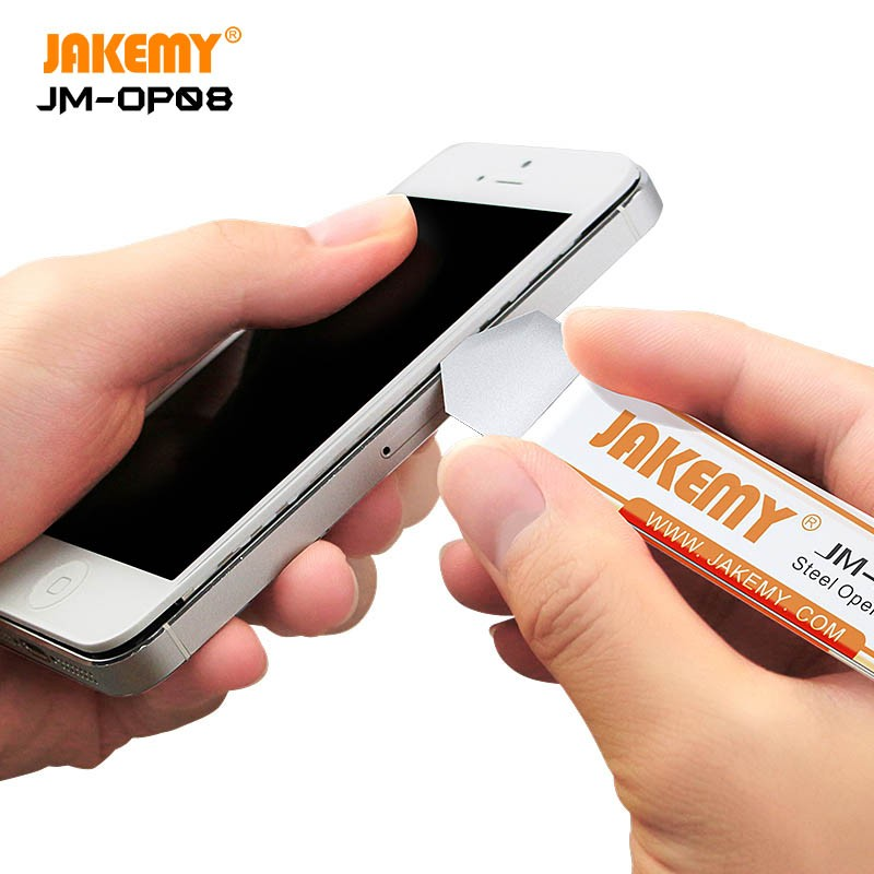 JAKEMY JM-OP08 Inoxidável Mini ferramenta de alavanca fina Ferramenta de abertura segura para Celulares