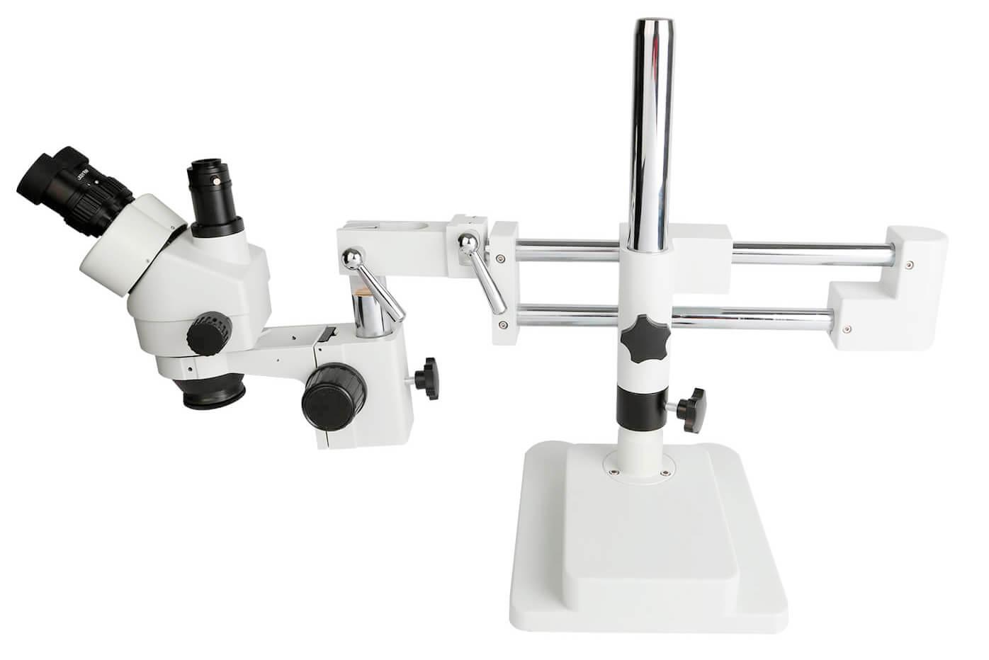 Kaisi 37045a-stl2 Microscópio Estereoscópico Trinocular Preto Simul-focal