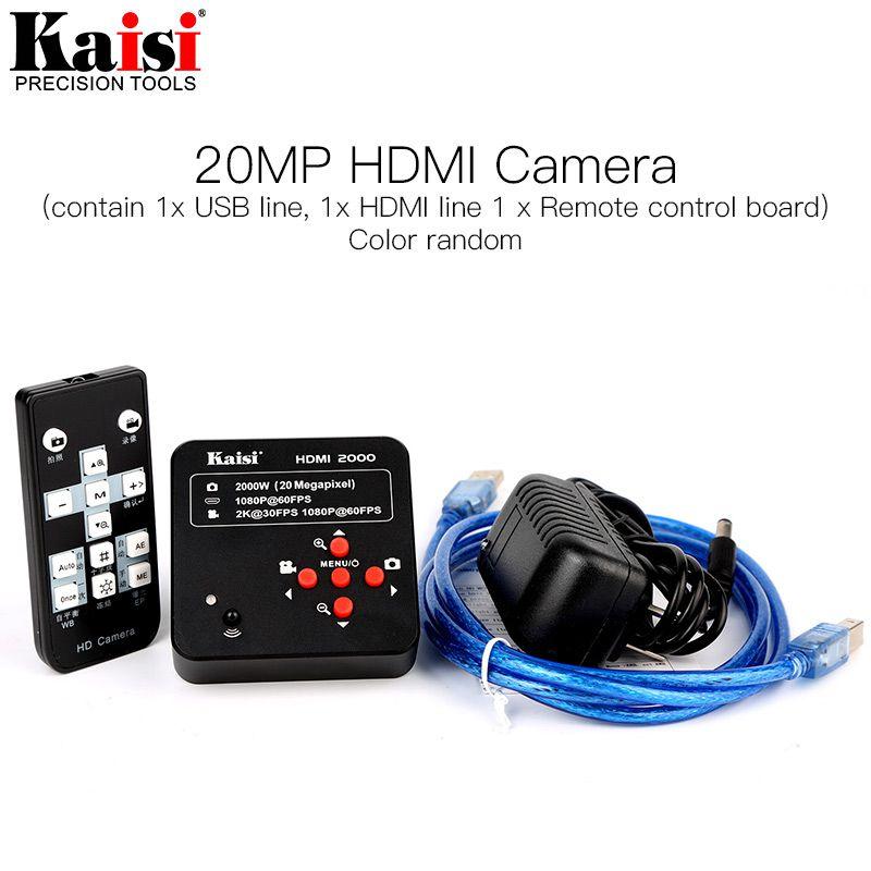 Kaisi Hdmi 2000  20mp 60FPS 1080P USB Câmera de vídeo digital microscópio eletrônico Grande Promoção