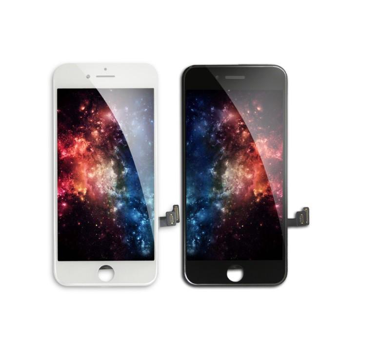 Tela/ LCD PARA IPHONE 7 BRANCO E PRETO  QUALIDADE: AAA + ILUMINE (AAA + BRIGHTEN UP)