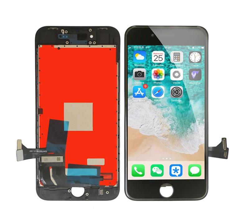 Tela/ LCD PARA IPHONE 8 BRANCO E PRETO QUALIDADE: AAA + ILUMINE (AAA + BRIGHTEN UP)