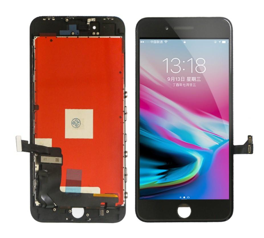 Tela/ LCD PARA IPHONE 8 Plus BRANCO E PRETO QUALIDADE: AAA + ILUMINE (AAA + BRIGHTEN UP)