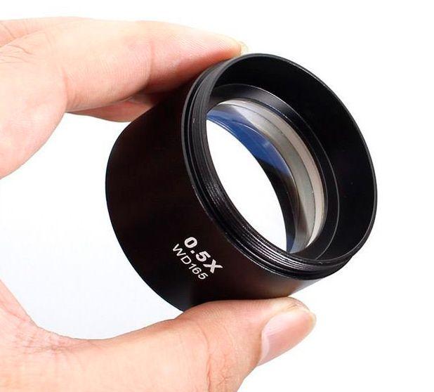Lente Wd165 0.5x Para Microscópio