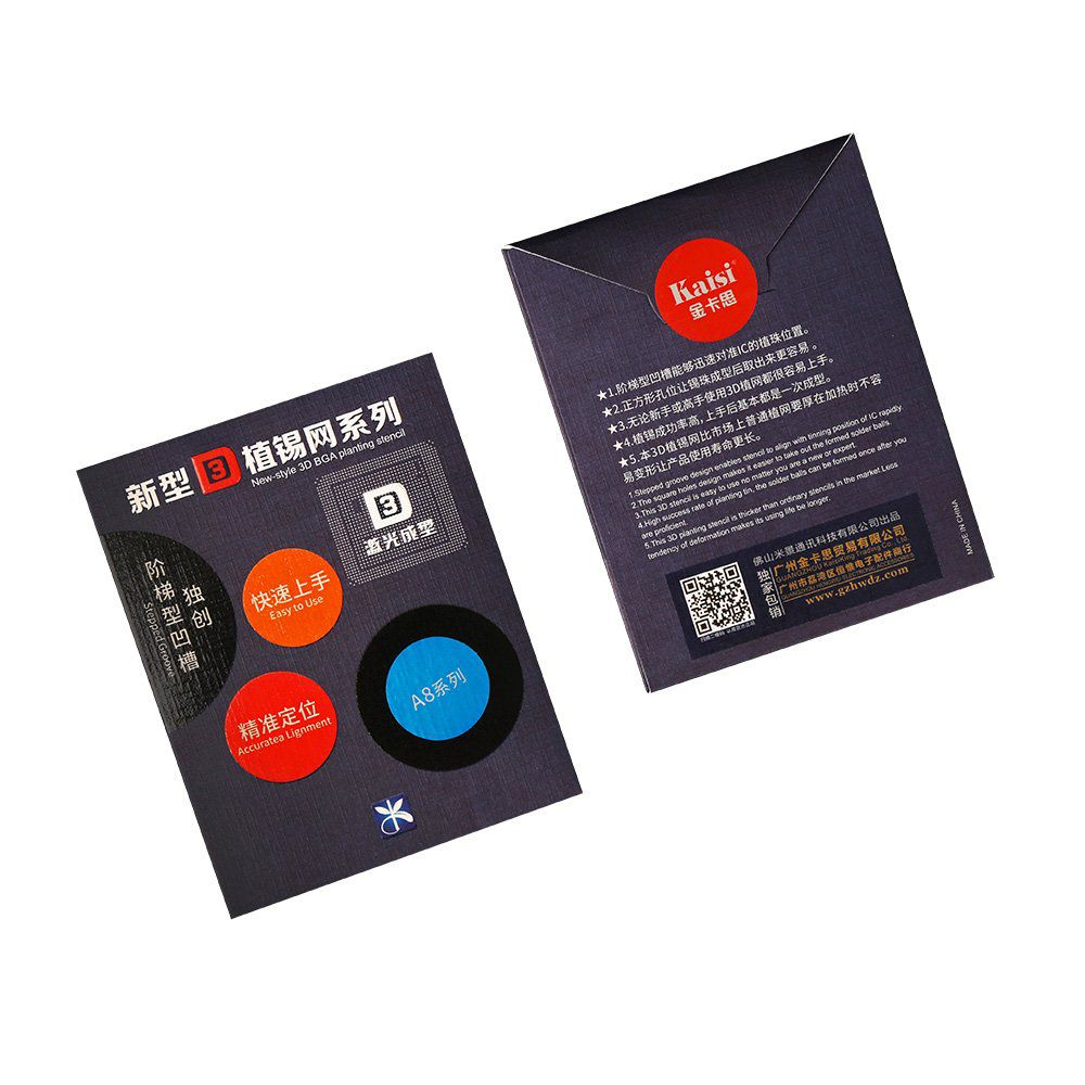 Mijing A8 3D BGA planting stencil para Iphone 6/6plus  A8