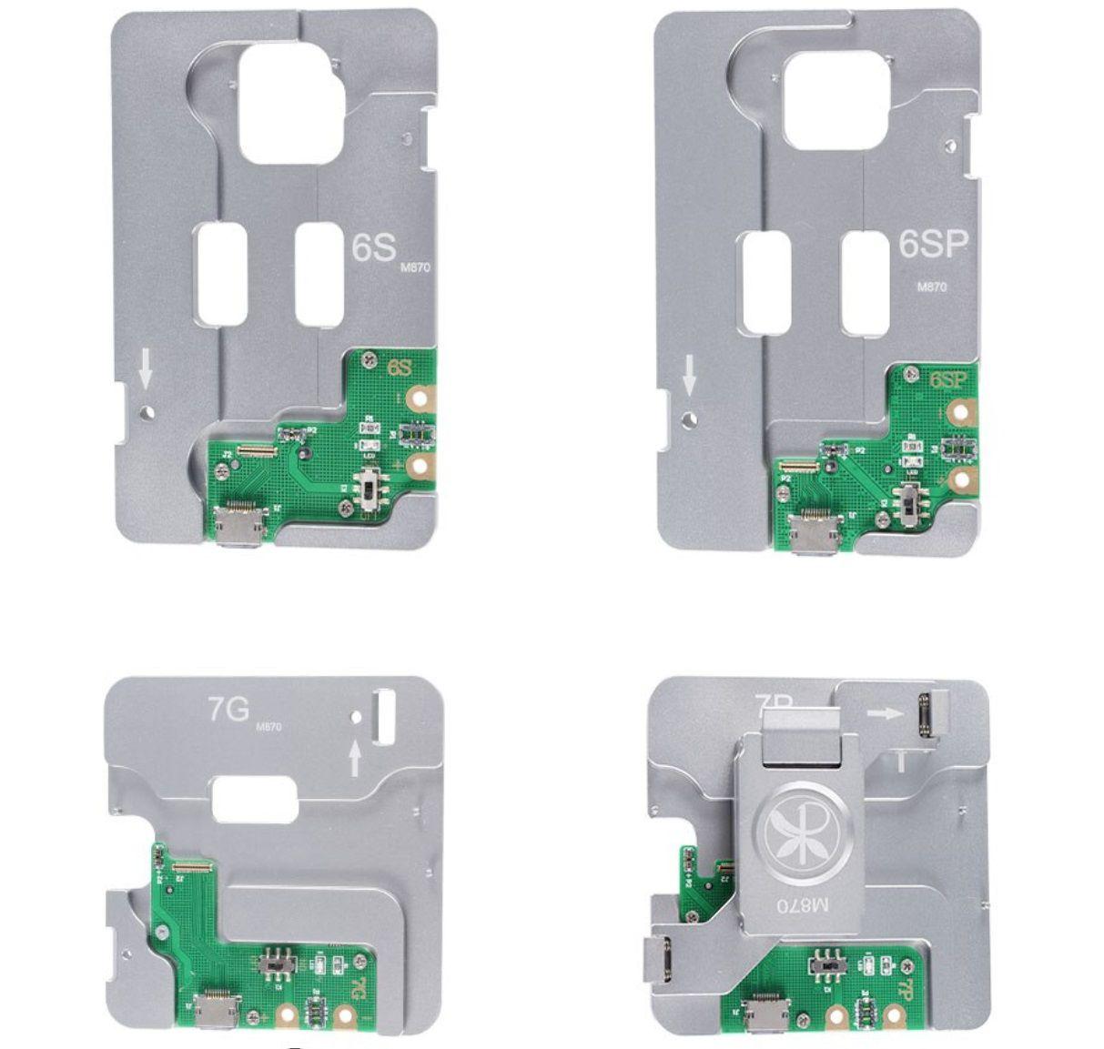 MIJING MJ-870 5 IN1 MEMÓRIA HDD NAND IC FERRAMENTA DE TESTE PARA IPHONE / 6S / 6SP /7G /7P
