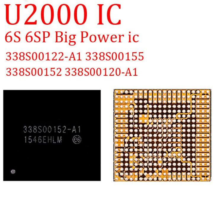 Original New Great Power IC Chip U2000 6S 6SP  338S00122-A1 338S00122 338S00155 338S00152 338S00120