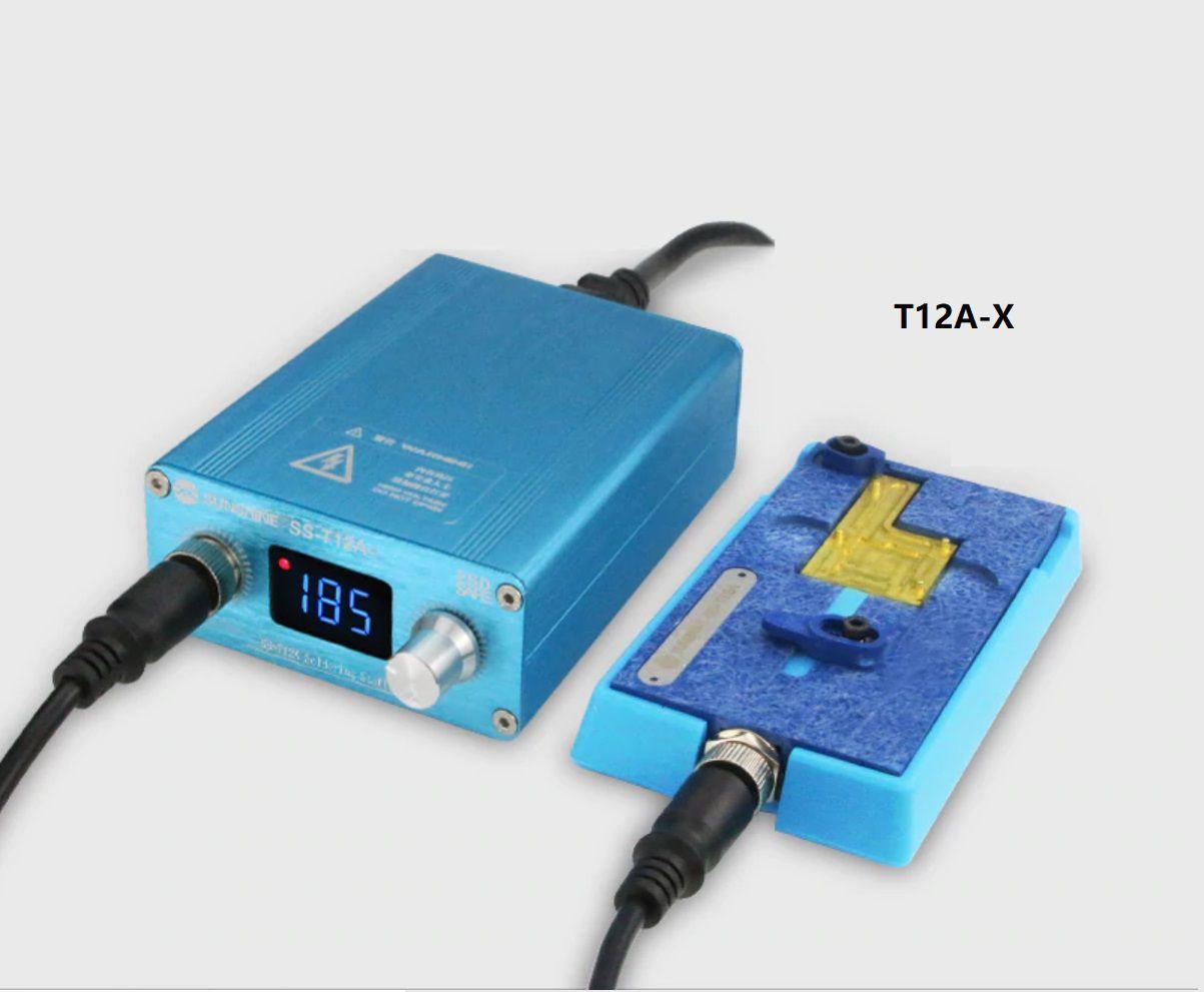 Kit Pre-aquecedor Sunshine Ss-t12a + T12A-X para iPhone X