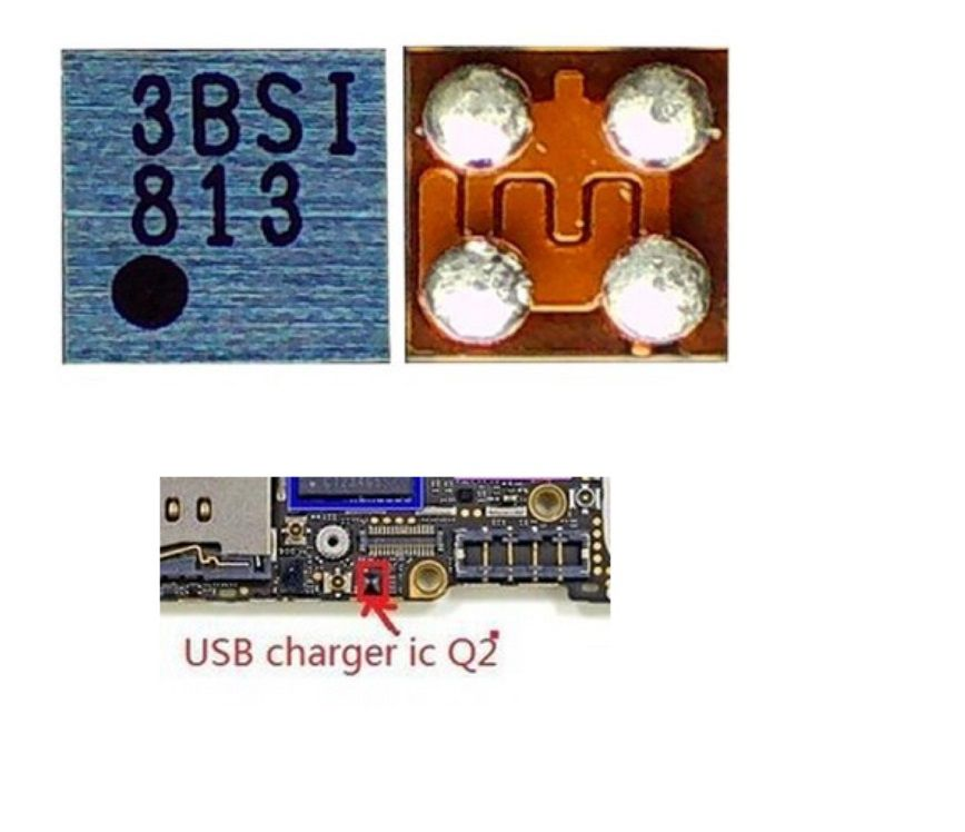 Q2  carregamento usb ic para iPhone 5S